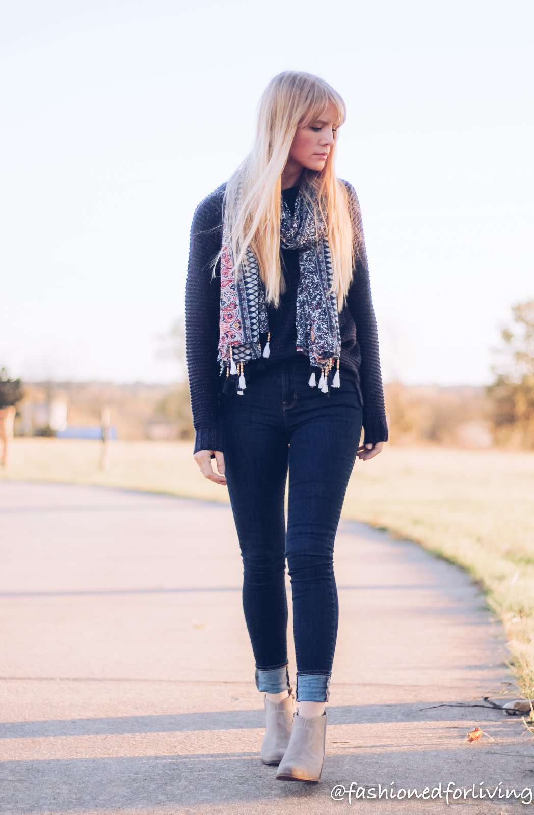 jeans holiday outfit