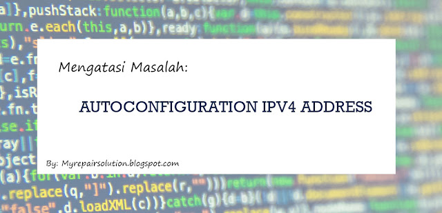 autoconfiguration ipv4 address