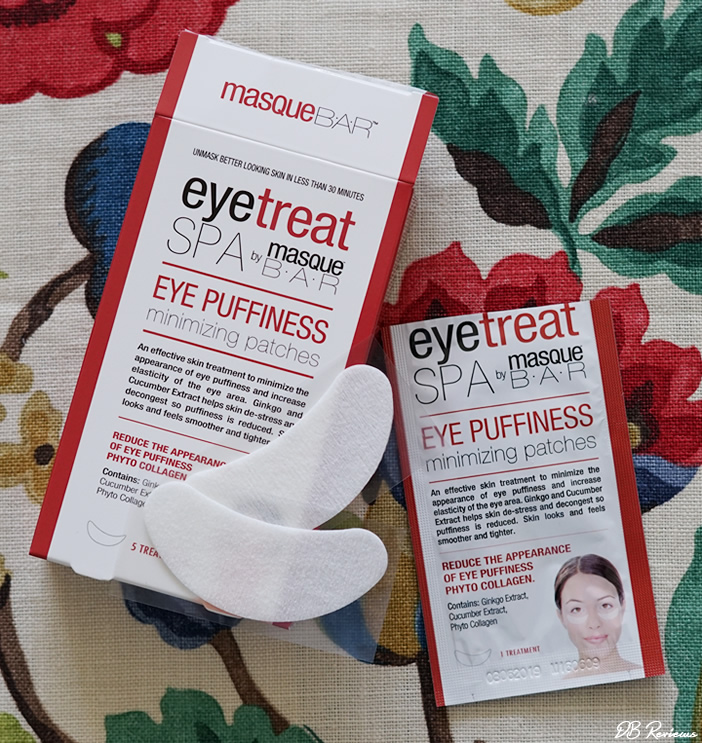 Masque Bar | Dark Circle Reducer and Eye Puffiness Minimizing Patches