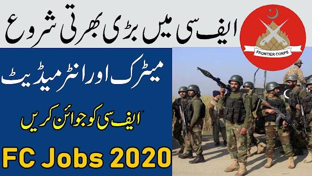 Frontier Corps FC Jobs 2020