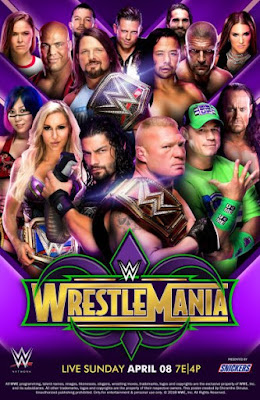 WWE WrestleMania 34 Custom HD Latino