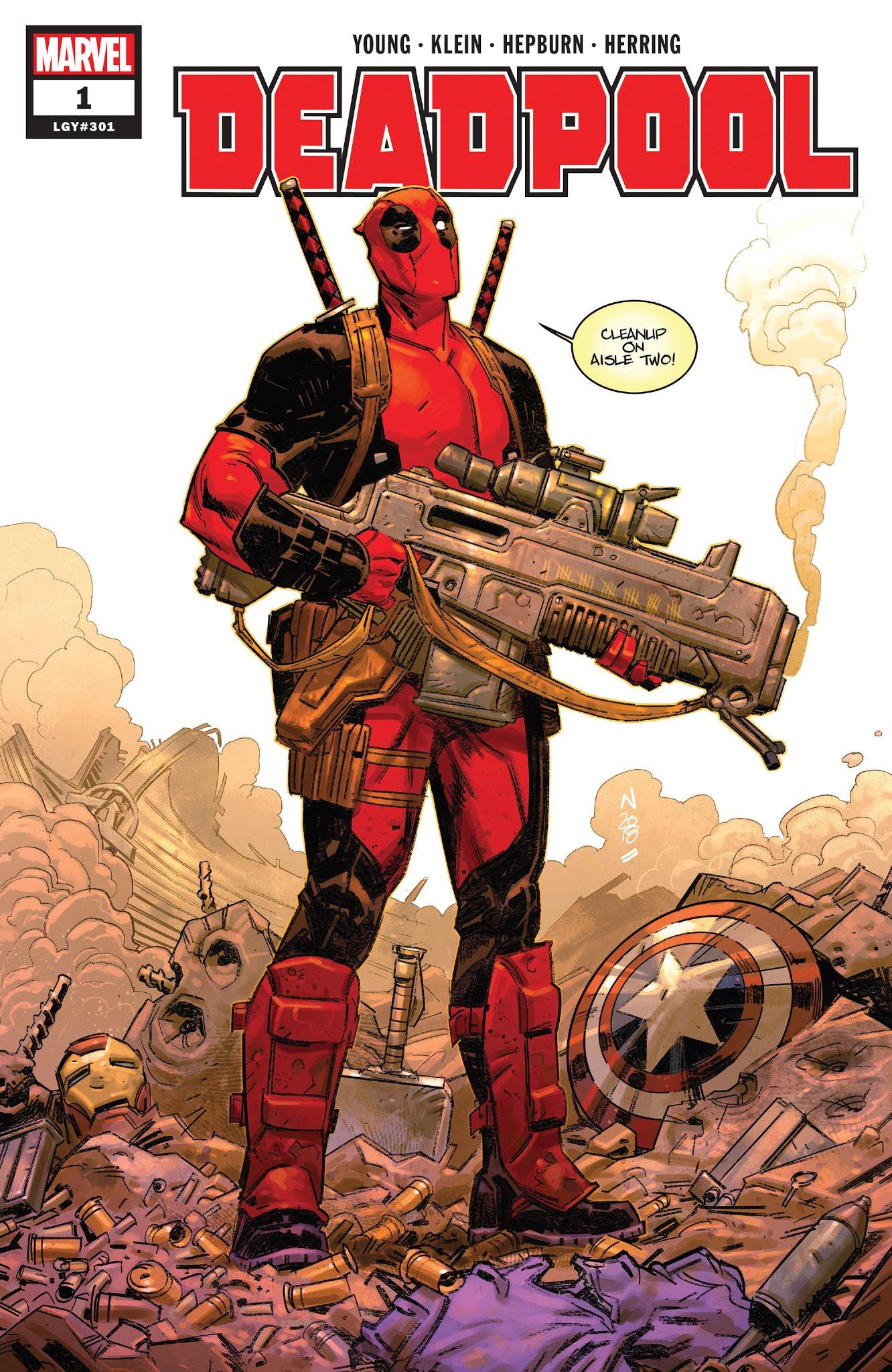 Deadpool (2018) 1 Page 1