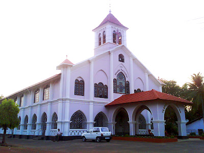 Shanthi Cathedral is a Protestants' worship place ocated at Balmatta