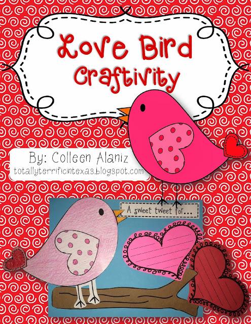 http://www.teacherspayteachers.com/Product/Love-Bird-Craftivity-1086573