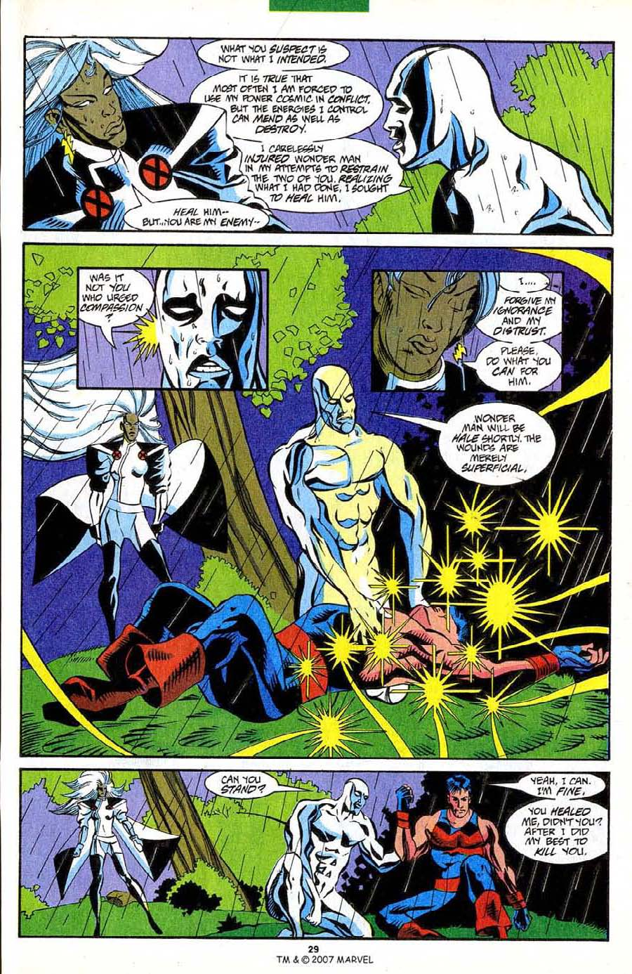 Read online Silver Surfer (1987) comic -  Issue #85 - 31