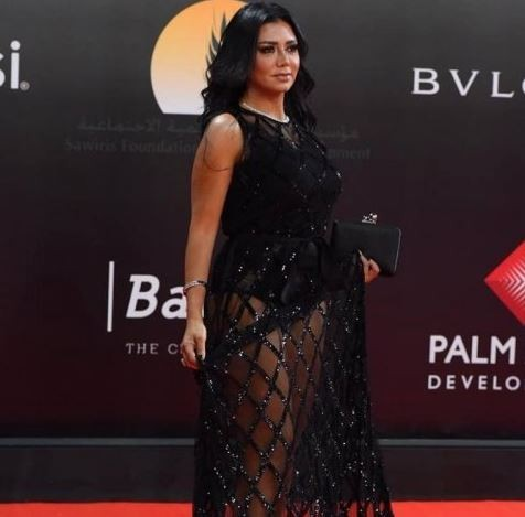 Egyptian actress, Rania Youssef to face trial for wearing a revealing dress to the Cairo Film Festival