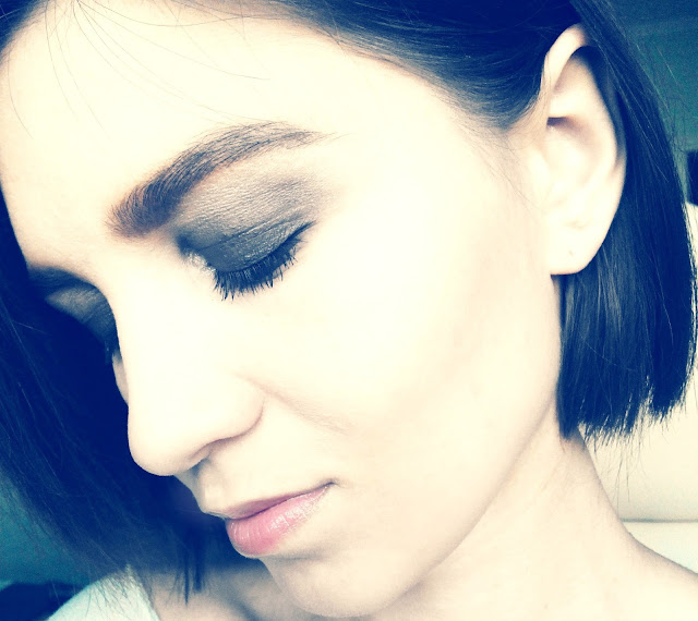 Глэм-рок макияж