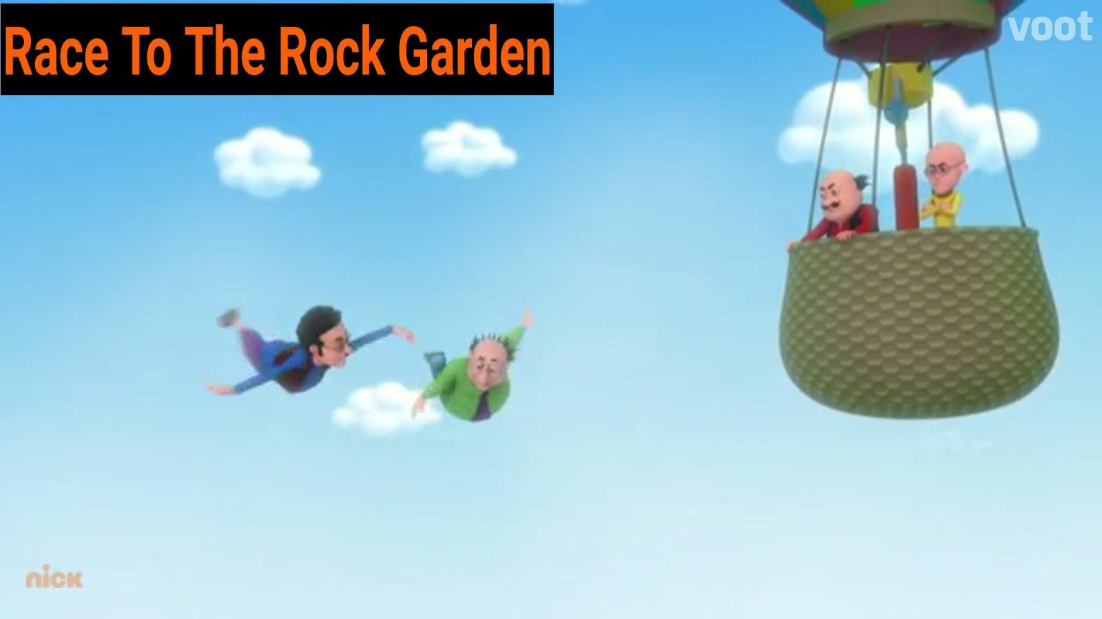 Motu Patlu Full Hd Video Episode 12 Race To The Rock Garden