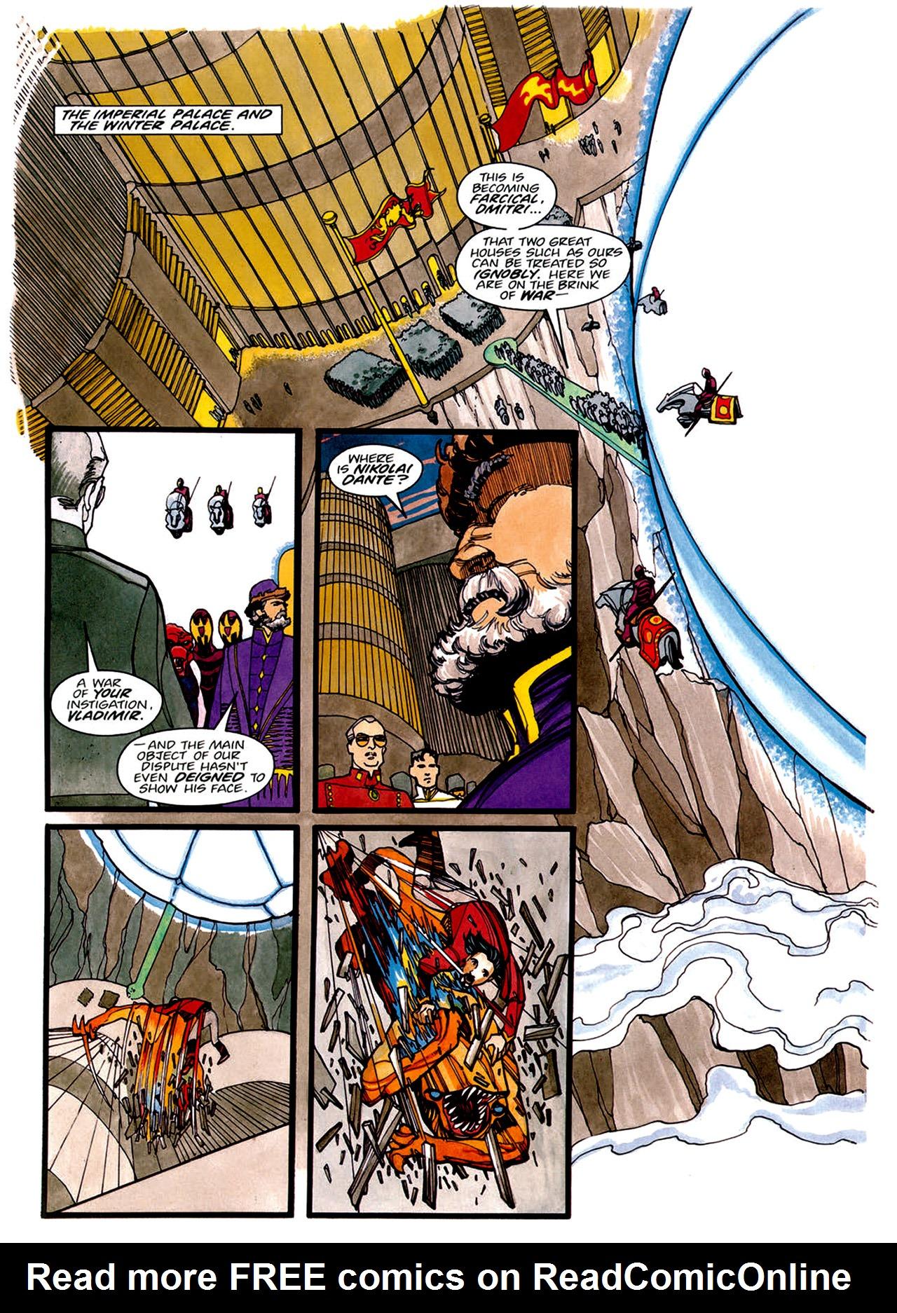Read online Nikolai Dante comic -  Issue # TPB 1 - 62