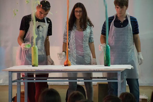 """""""Το Πανηγύρι των πειραμάτων"""": Εξαιρετικές παρουσιάσεις στο 1ο Γυμνάσιο Ναυπλίου (βίντεο)"""