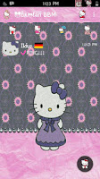 BBM Hello Kitty Flower Pink V.2.12.0.11 Apk