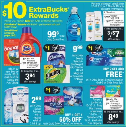 CVS P&G Deals 4-28-5-4
