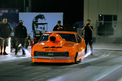 Bader Khourchid Pro Nitrous  Camaro at Qatar Racing Club