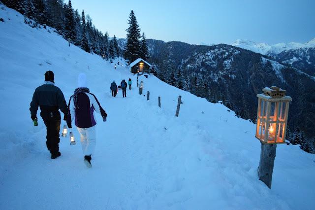 sentiero dell'avvento katschberg carinzia