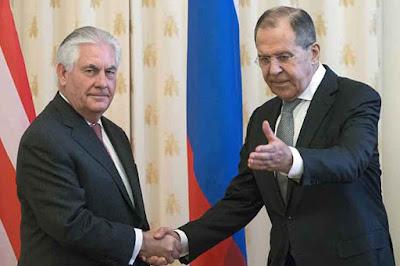 Lavrov y Tillerson abordan antiterrorismo y conflicto sirio