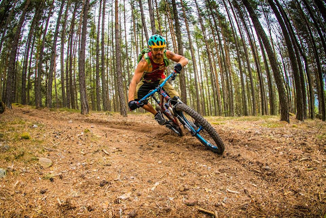 Drücktechnik Mountainbike