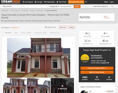 Urbanindo.com : Rumah Susah Laku? Jual Rumah Online Saja!
