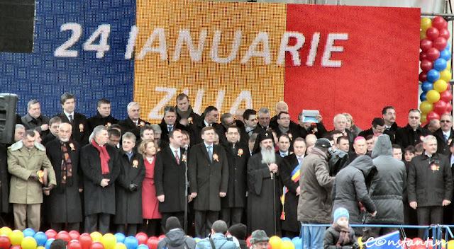 Iasi - 24 ianuarie 2013 (Piata Unirii)