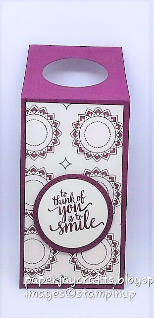 Paperjay Crafts, Fresh Fig, Wine Bottle Tag.