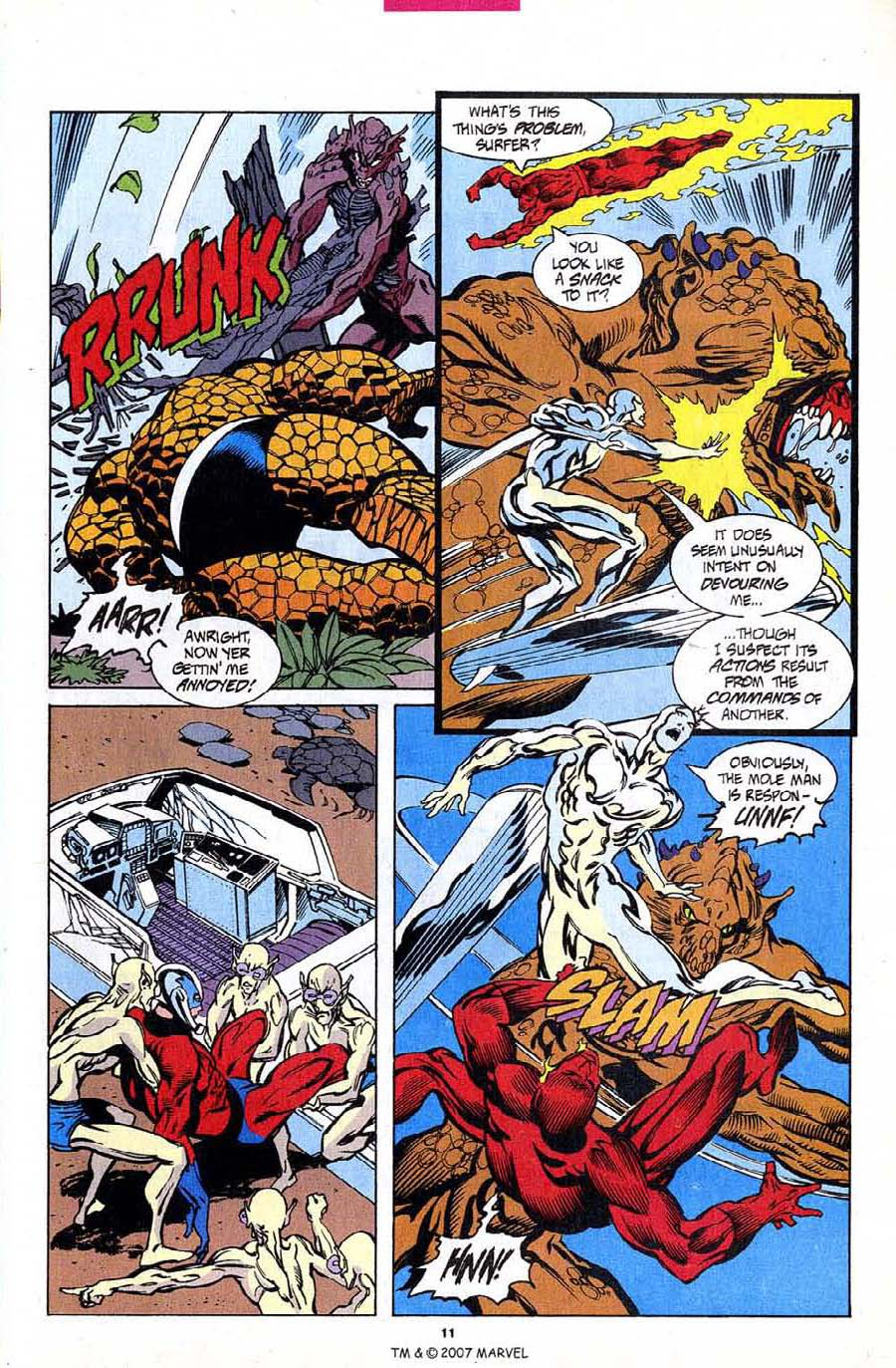 Read online Silver Surfer (1987) comic -  Issue #94 - 13