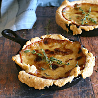 Caramelized-Onion-and-Gruyere-Skillet-Tarts