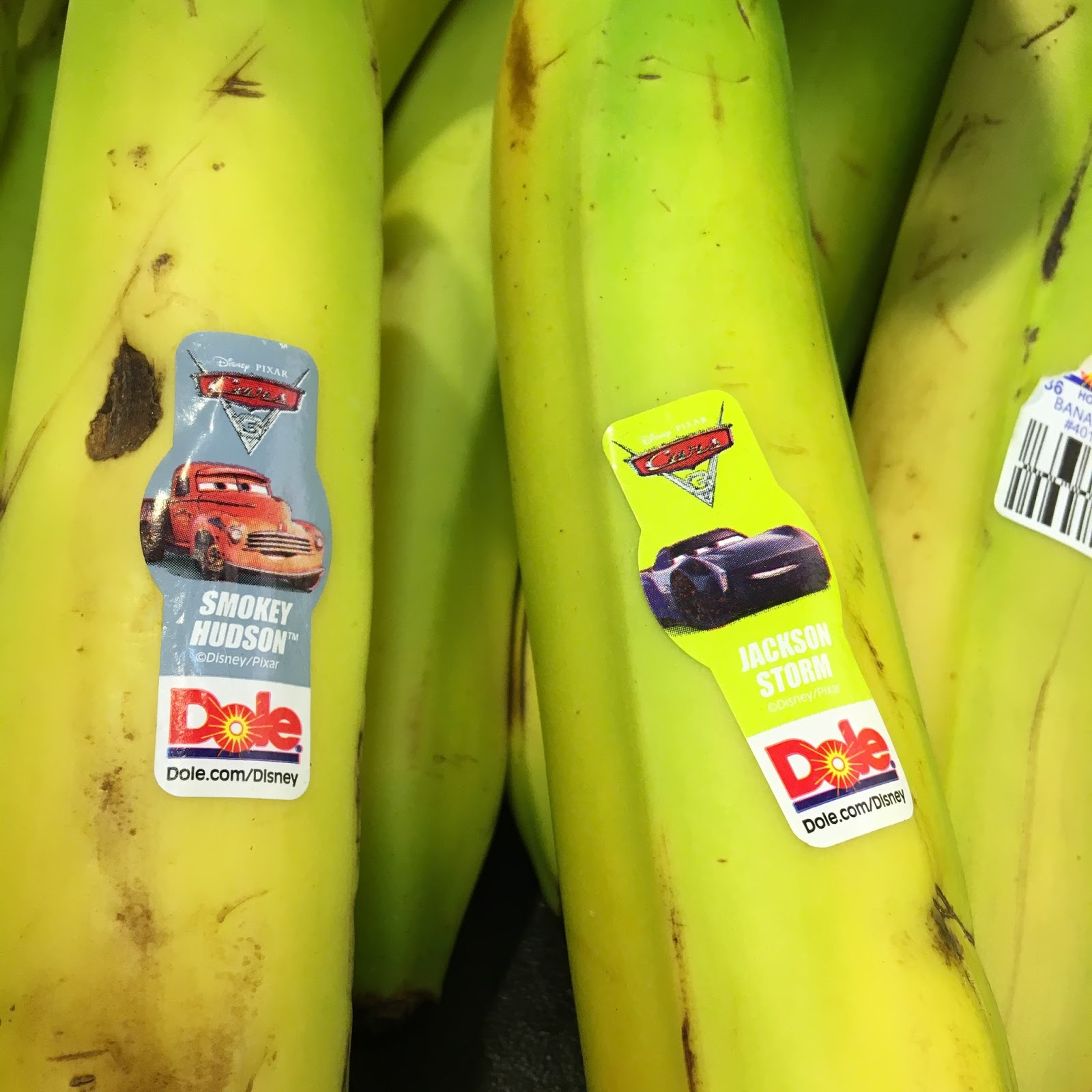 disney pixar cars 3 dole bananas
