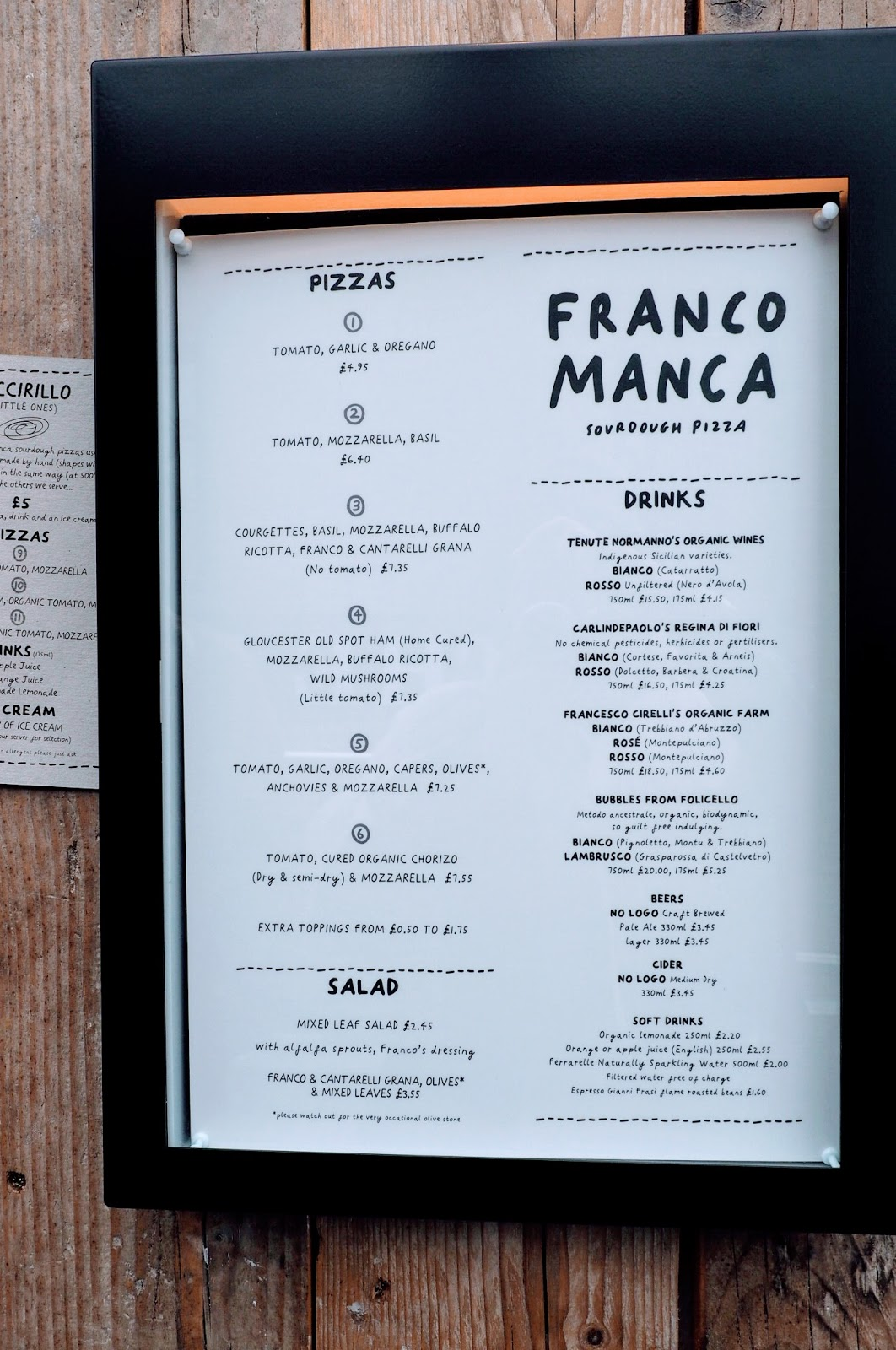 Franco Manca at Brighton Marina