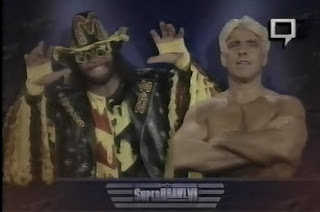 WCW SUPERBRAWL VI 1996 - Ric Flair beat Randy Savage for his 13th World Heavyweight Title
