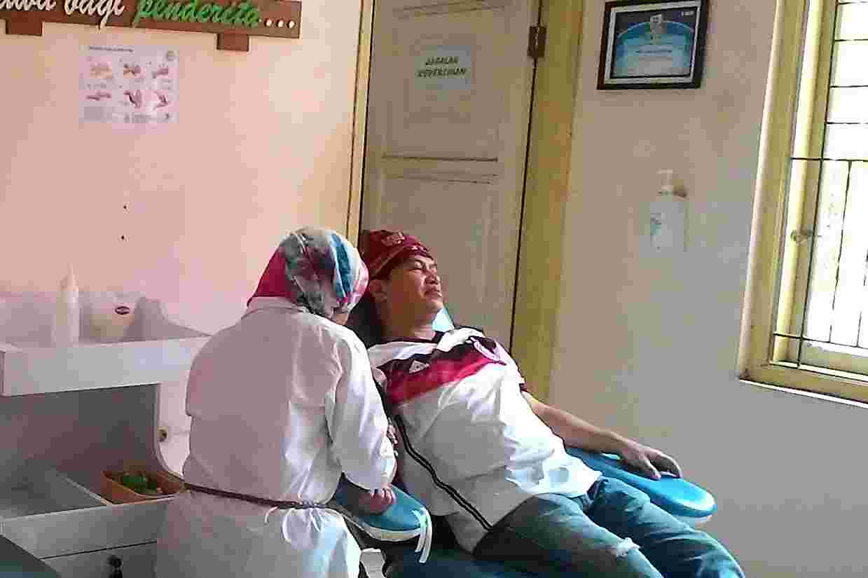 Datang ke Kantor PMI, Mang Eep Sarankan PNS di Subang Harus Rutin Donor Darah