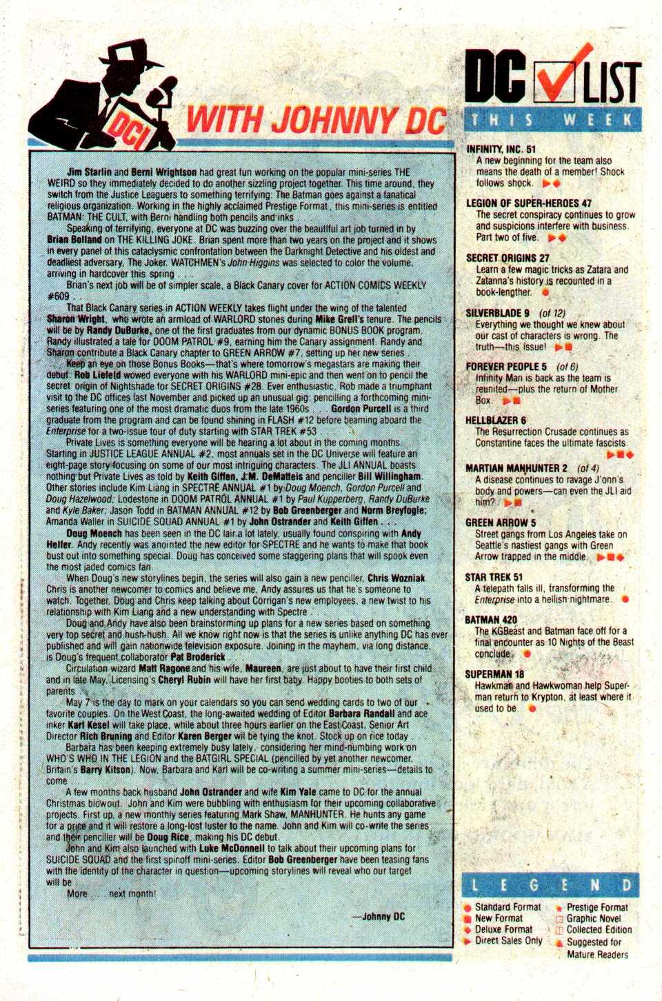 Read online Secret Origins (1986) comic -  Issue #27 - 40