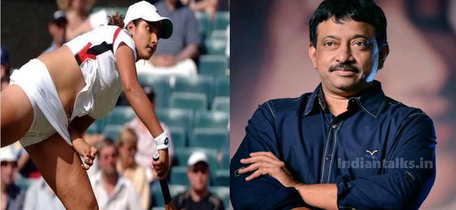 RGV Shared Sania Mirza Embarrassing Picture on Instagram