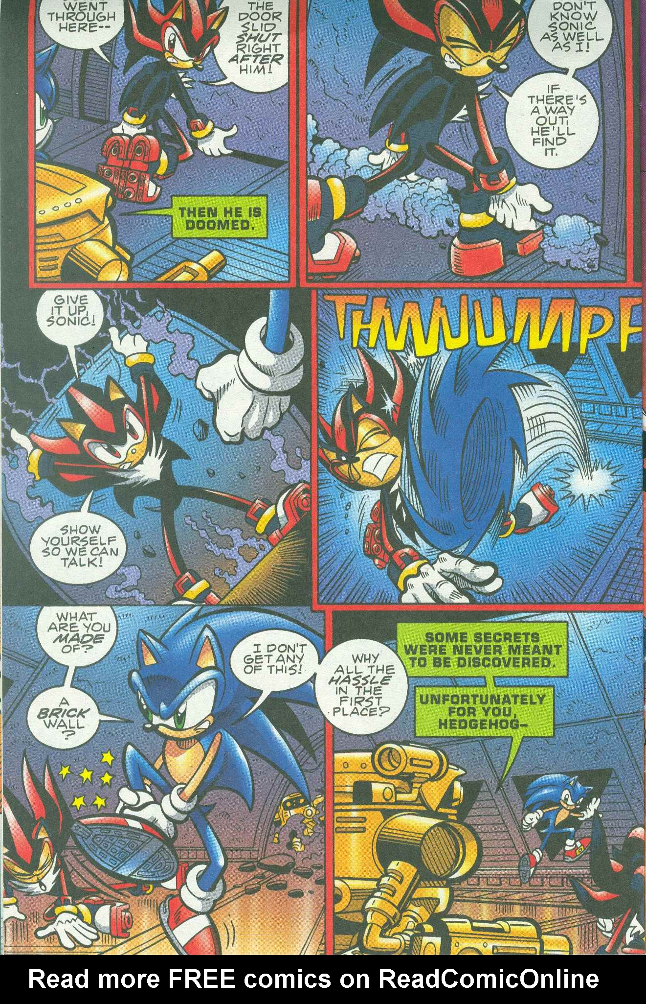 Read online Sonic The Hedgehog comic -  Issue #148 - 12