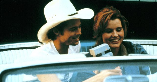 Brad Pitt en Thelma y Louise
