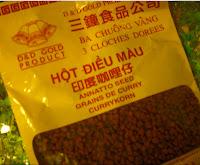 Semi Achiote - fagioli al curry (semi annatto)