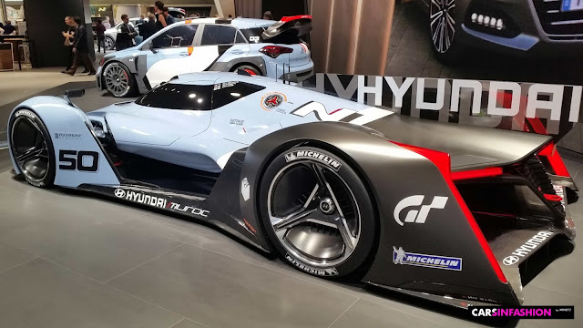 Muroc the Vision Gran Turismo Car from the side, Hyundaii30, IAA 2015