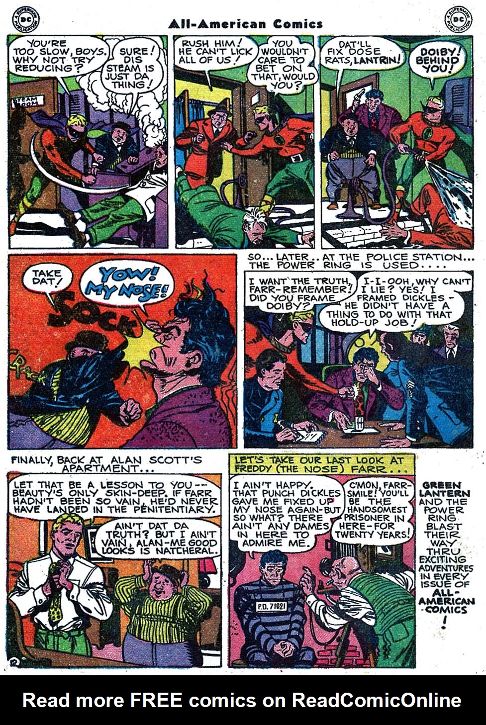 Read online All-American Comics (1939) comic -  Issue #84 - 22