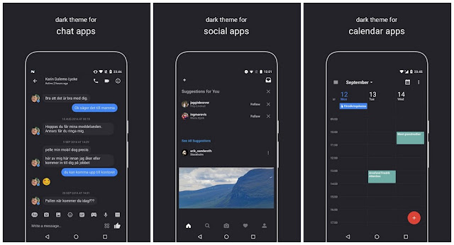 Swift Dark Substratum Theme Latest Apk