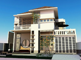 Modern minimalist house design the latest 2 floors