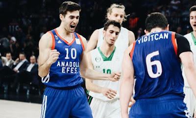 Basketbol Gençler Ligi finali: Anadolu Efes - Darüşşafaka
