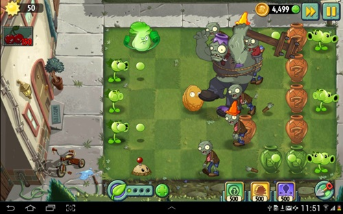 game plants vs zombie 2