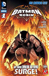 Os Novos 52! Batman e Robin - Anual #1