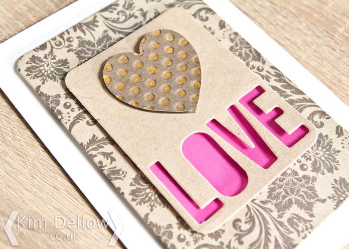 Valentine's Day card tutorial on the Blitsy Blog