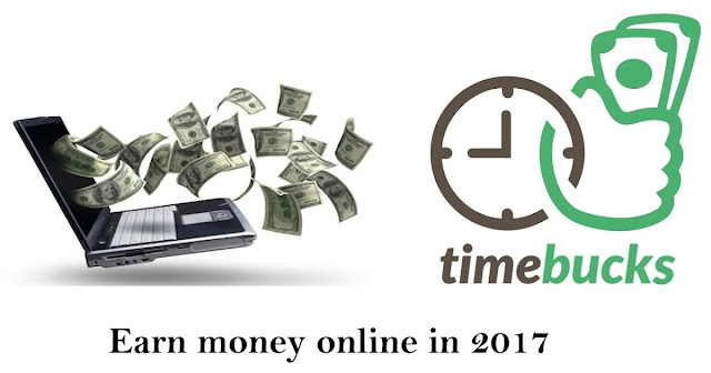 Earn $ 5 dollars per day at Timebucks
