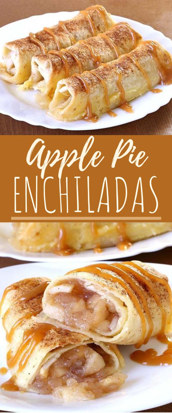 Apple Pie Enchiladas #dessert #easy