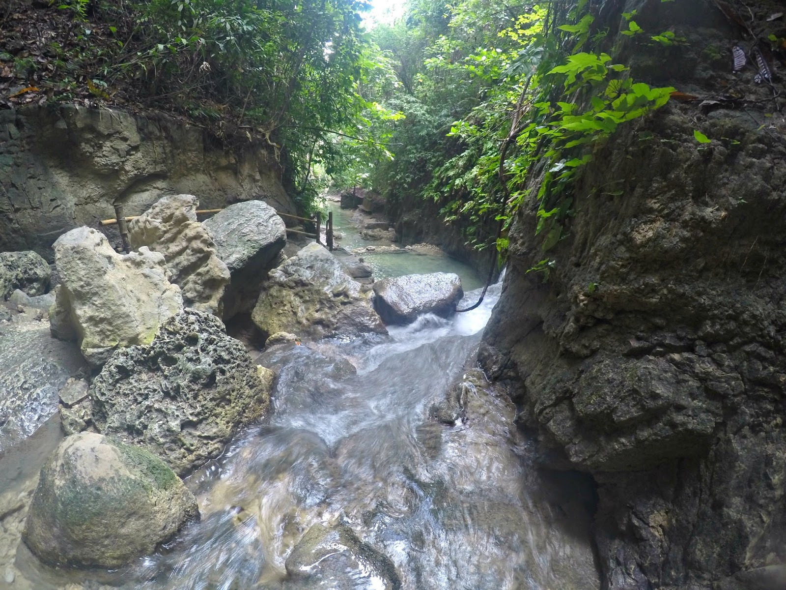 hidden falls in Samboan Cebu Philippines