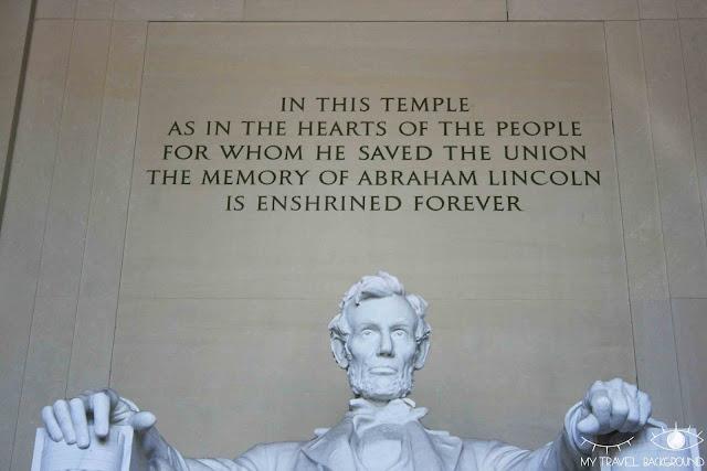 My Travel Background : 12 lieux à visiter à Washington D.C. - Lincoln Memorial