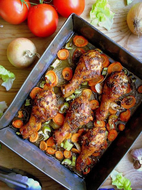 Kurczak w pomidorowej marynacie / Tomato marinated chicken
