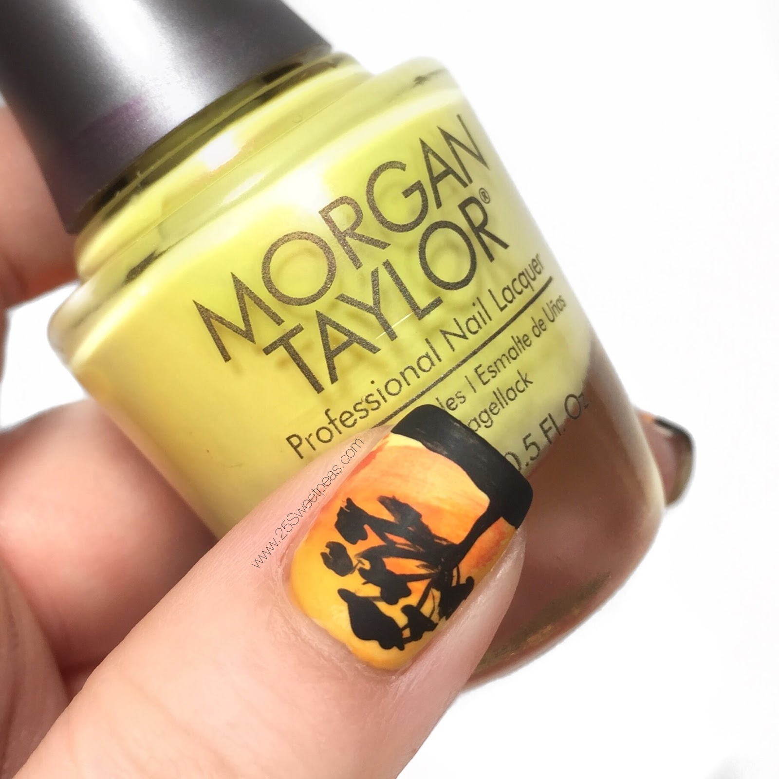 African Sunset Nails