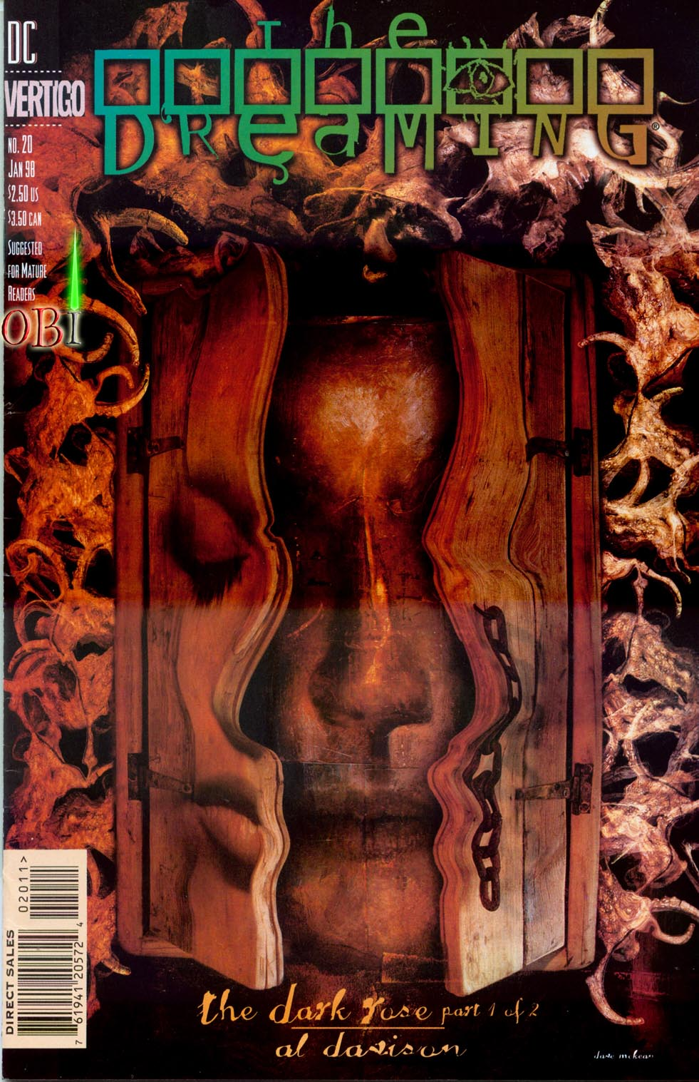 The Dreaming (1996) issue 20 - Page 1