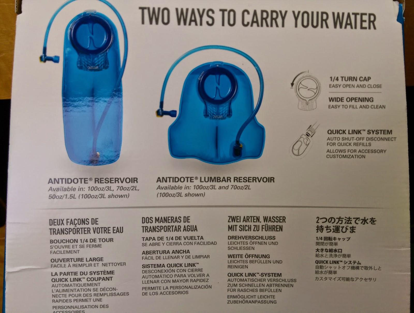 今天 你 開心 嗎 ?: CAMELBAK 水袋 3L